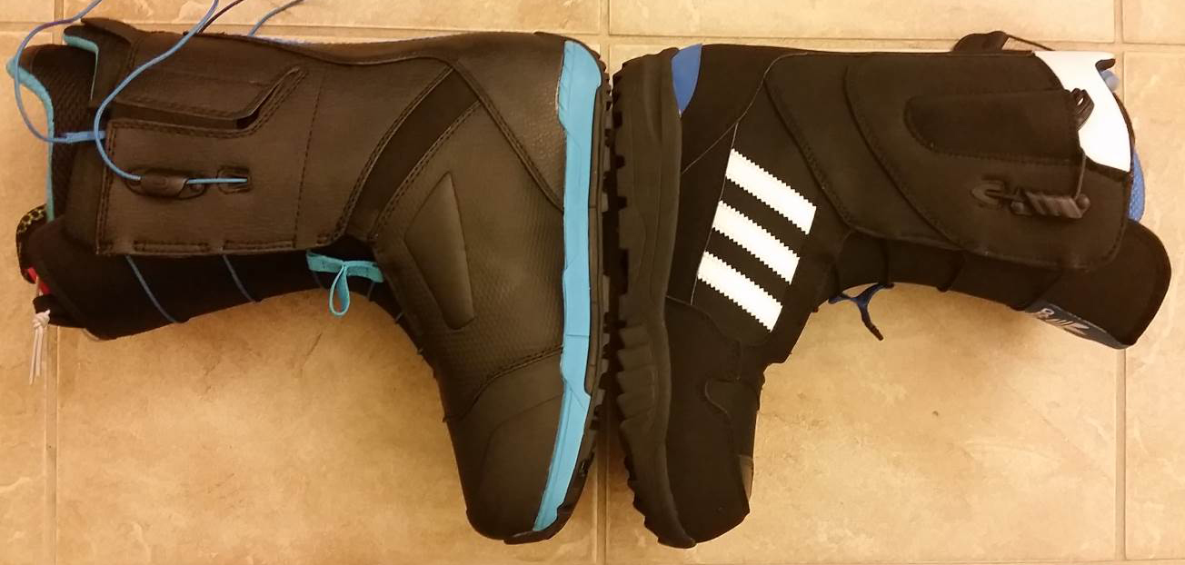 Adidas ZX 500 Footprint vs. Ion