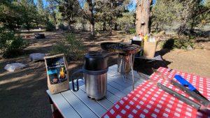The Biolite CampStove 2 Complete Cook Kit