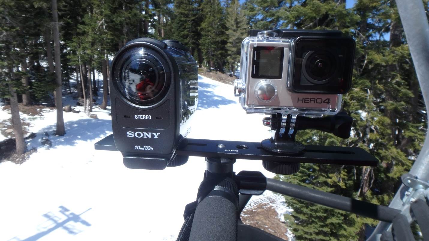 Camera Gopro Hero Vs Sony Action Cam sony hdr as200v action cam review for snowboarders fdr x1000v vs go pro hero 4 black
