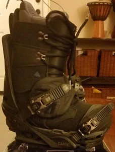 boot to binding