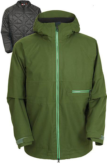686 smarty network 3 in 1 snowboard jacket review the