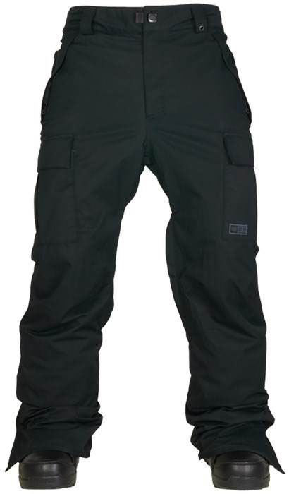 image 686-authentic-infinity-cargo-pants-black-herringbone-front-jpg