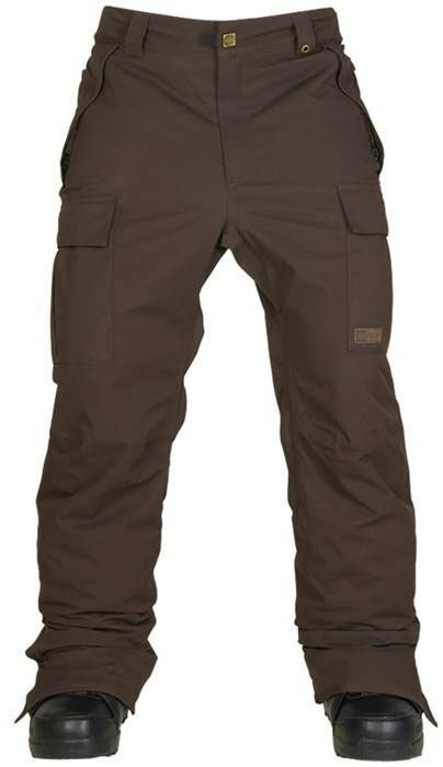 image 686-authentic-infinity-cargo-pants-coffee-herringbone-front-jpg
