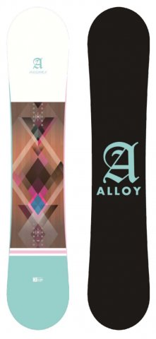 Alloy Pandora Women's 2019 Snowboard Review