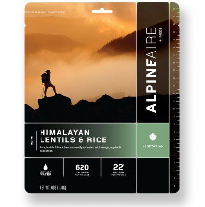 AlpineAire Himalayan Lentils and Rice 2020 Review