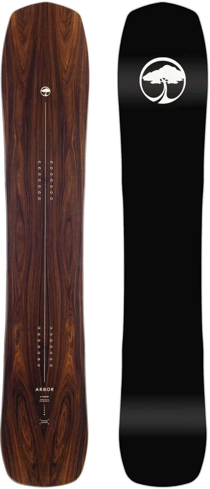 Arbor A-Frame 2016-2010 Snowboard Review