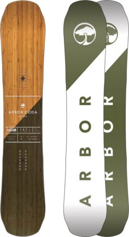 Arbor Coda 2016-2010 Snowboard Review