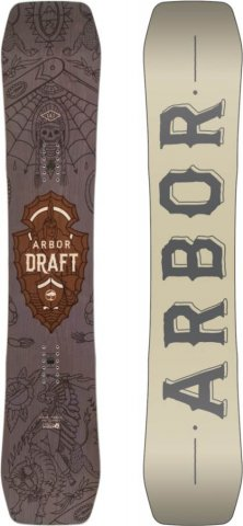 Arbor Draft 2016-2010 Snowboard Review