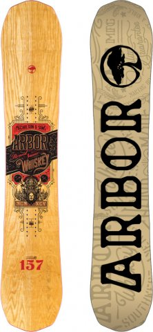 Arbor Whiskey 2016-2014 Snowboard Review
