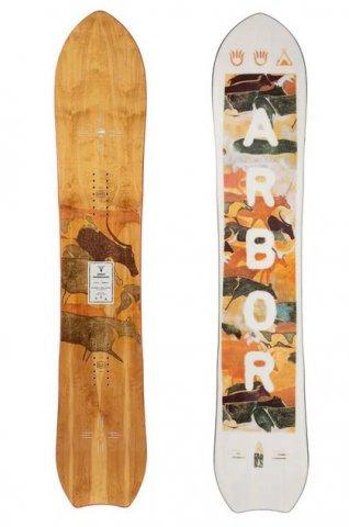 Arbor Womens Clovis 2021 Snowboard Review