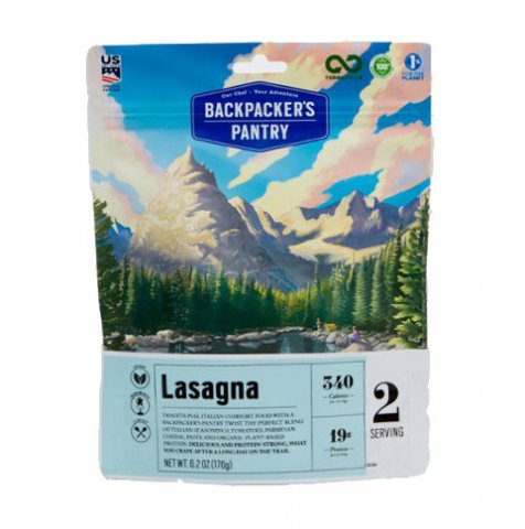Backpackers Pantry Vegetable Lasagna 2020 Review