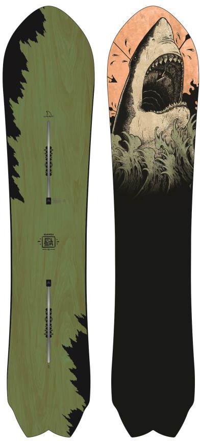 0a89bff09ba Burton Fish 2010-2018 Snowboard Review