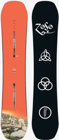Burton Led Zeppelin X Easy Livin 2017 Snowboard Review