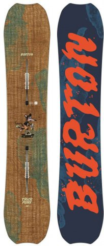 Burton Trick Pony 2014-2017 Snowboard Review