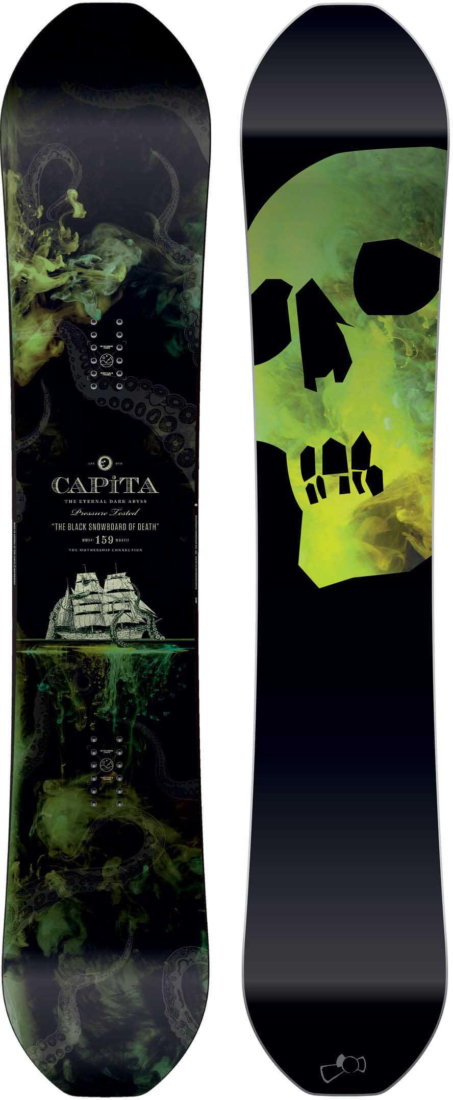 Amazon.com : capita black snowboard of death snowboards ...