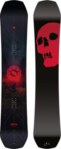 Capita Black Snowboard of Death 2017-2010 Review