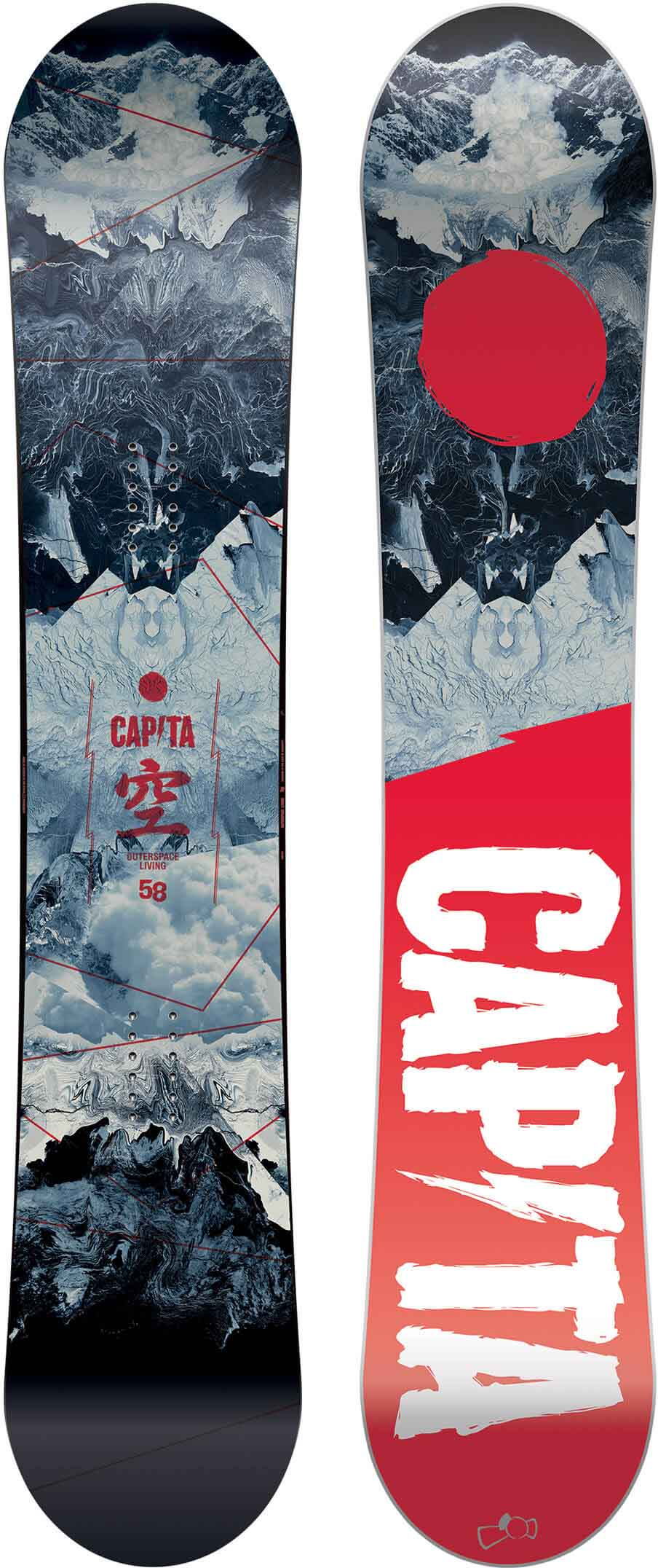64e5a0168 Capita Outerspace Living 2017-2019 Snowboard Review