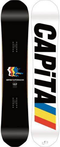 Capita Supermacho 2016 Snowboard Review
