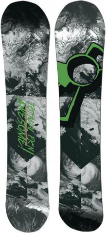 Capita Totally FKn Awesome 2012-2015 Snowboard Review