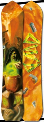 Dinosaurs Will Die Wizard Stick Snowboard Review