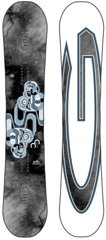 Gnu Carbon Credit Asym 2017-2018 Snowboard Review