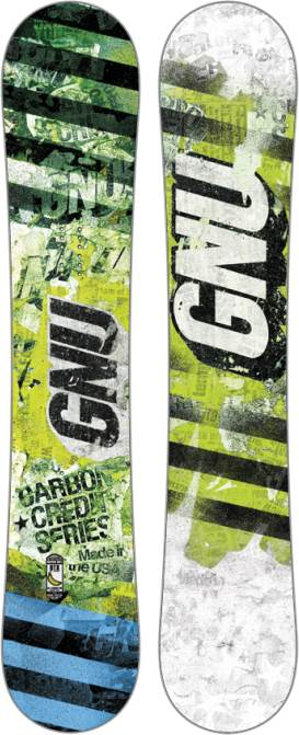 image 1314-gnu-carbon-credit-series-green-snowboard-jpg