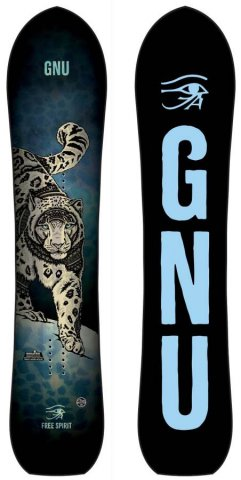 Gnu Free Spirit 2018-2019 Snowboard Review