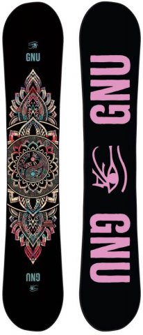 Gnu Ladies Choice 2013-2019 Snowboard Review