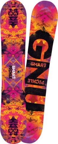 Gnu Ladies Smart Pickle 2011-2016 Snowboard Review