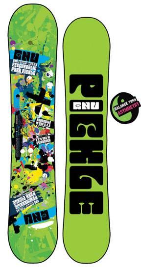 Snowboard Review: 09-10 GNU Park Pickle