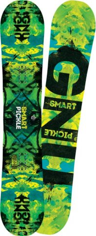 Gnu Smart Pickle 2016-2010 Snowboard Review