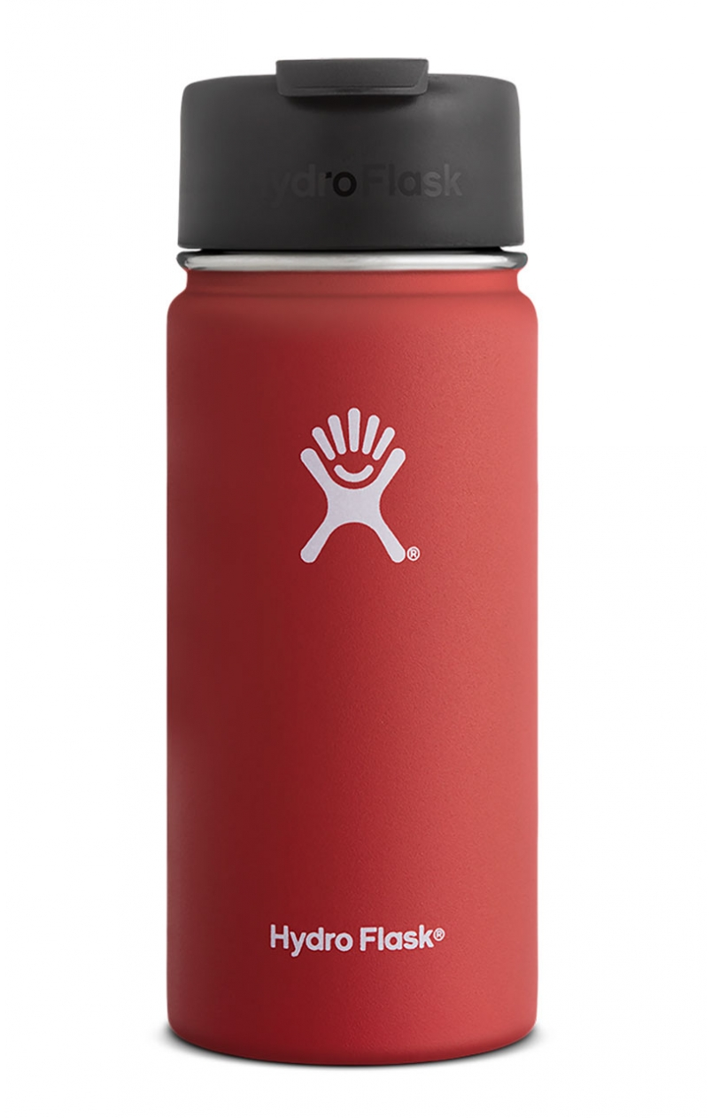 image hydro-flask-stainless-steel-vacuum-insulated-water-bottle-16-oz-wide-mouth-flip-cap-lava-jpg