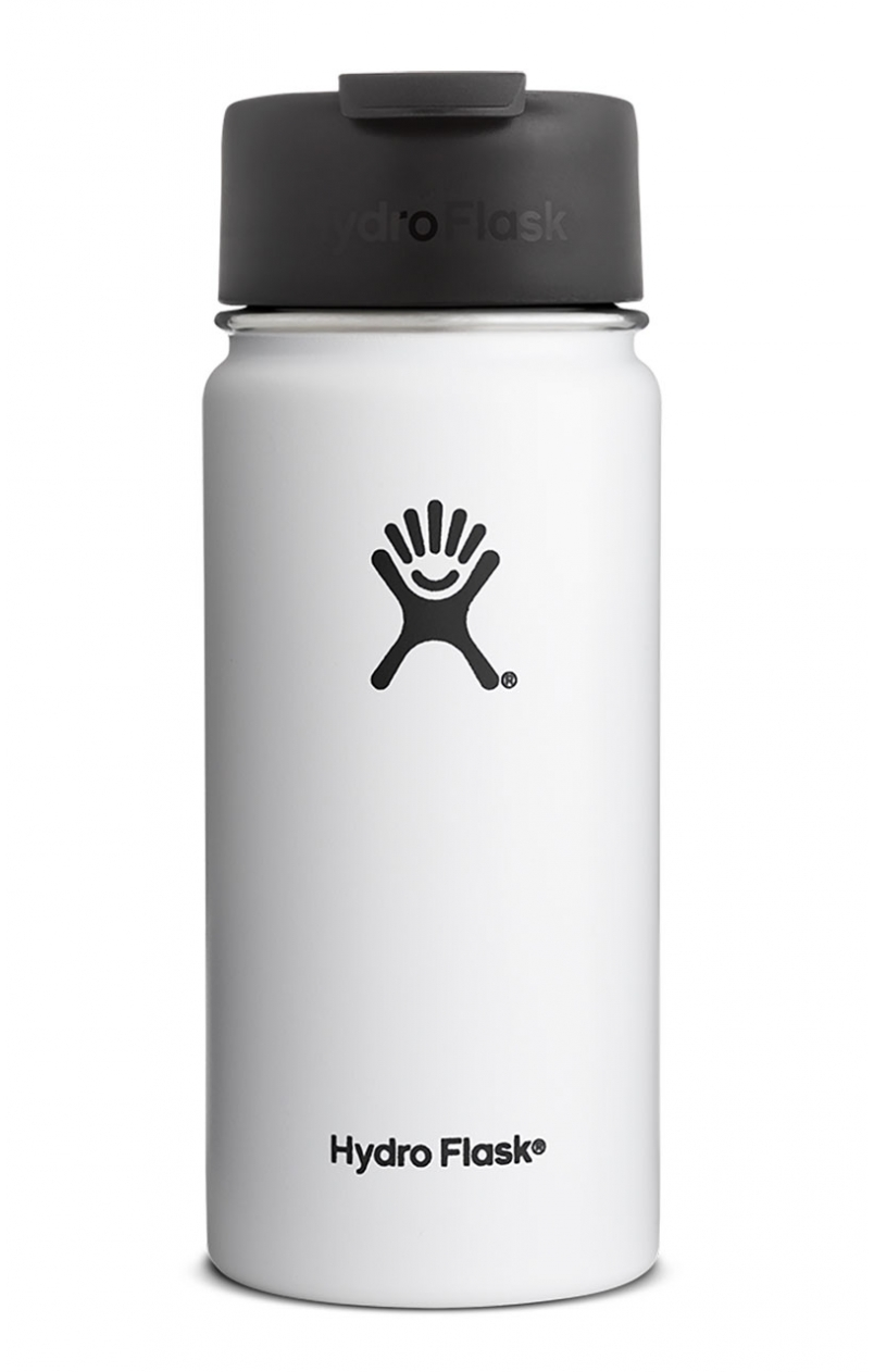 image hydro-flask-stainless-steel-vacuum-insulated-water-bottle-16-oz-wide-mouth-flip-cap-white-1-jpg