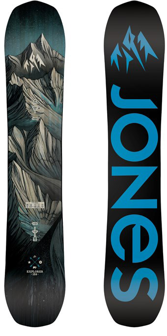 e57565cc291 Jones Explorer 2016-2019 Snowboard Review