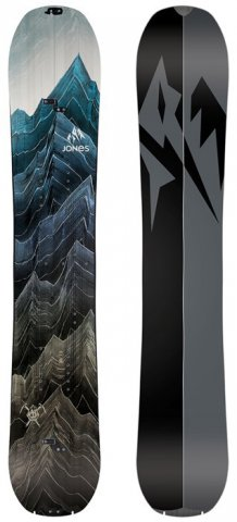 Jones Solution Splitboard 2020 Snowboard Review
