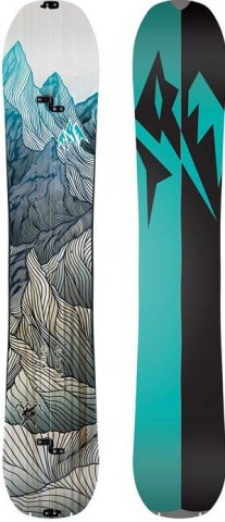 Jones Women's Solution Splitboard 2020 Snowboard Review