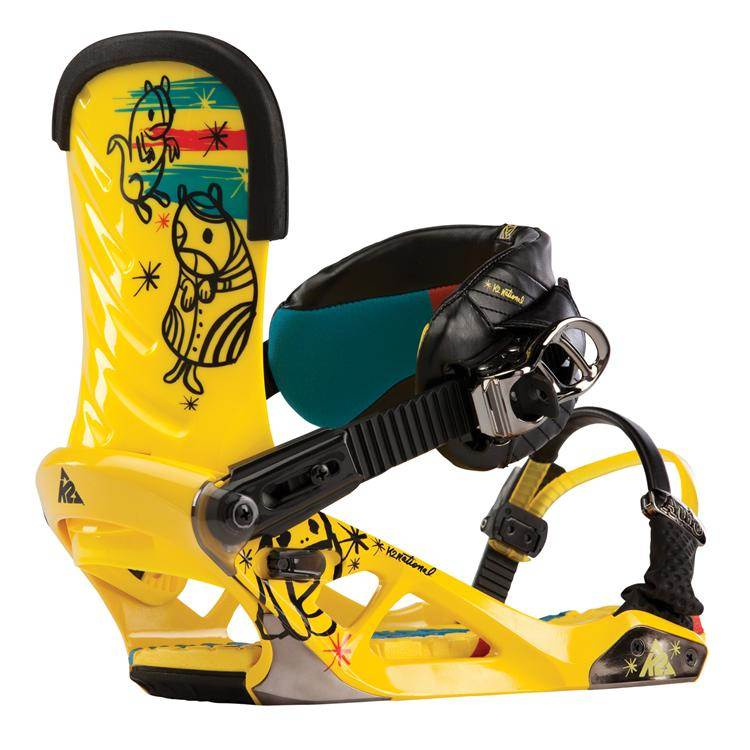 image k2-national-snowboard-bindings-demo-2013-yellow-jpg