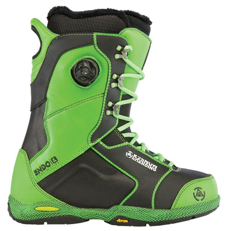 image k2-t1-snowboard-boots-demo-2013-green-jpg