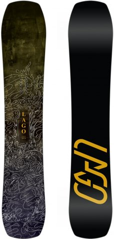 Lago Open Road Snowboard Review 2017