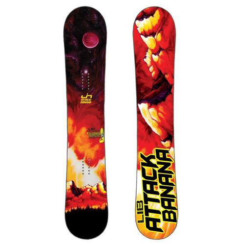 Lib Tech Attack Banana 2011 2019 Snowboard Review