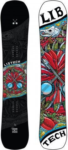 Lib Tech EJack Knife 2018-2019 Snowboard Review