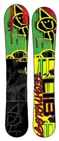 Lib Tech Snow Mullet 2010-2011 Snowboard Review
