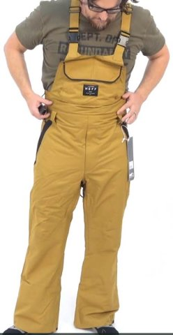 Neff Code Bib Pant Review