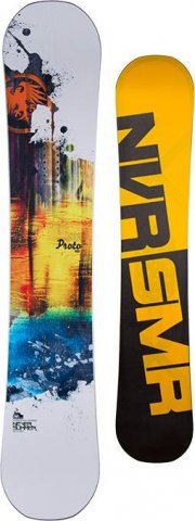 Never Summer Proto HD Snowboard Review