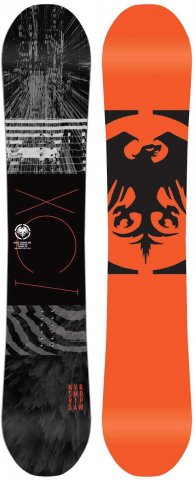 Never Summer Ripsaw 2014-2019 Snowboard Review