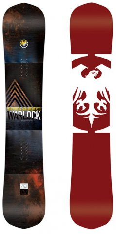 Never Summer Warlock 2017 Snowboard Review