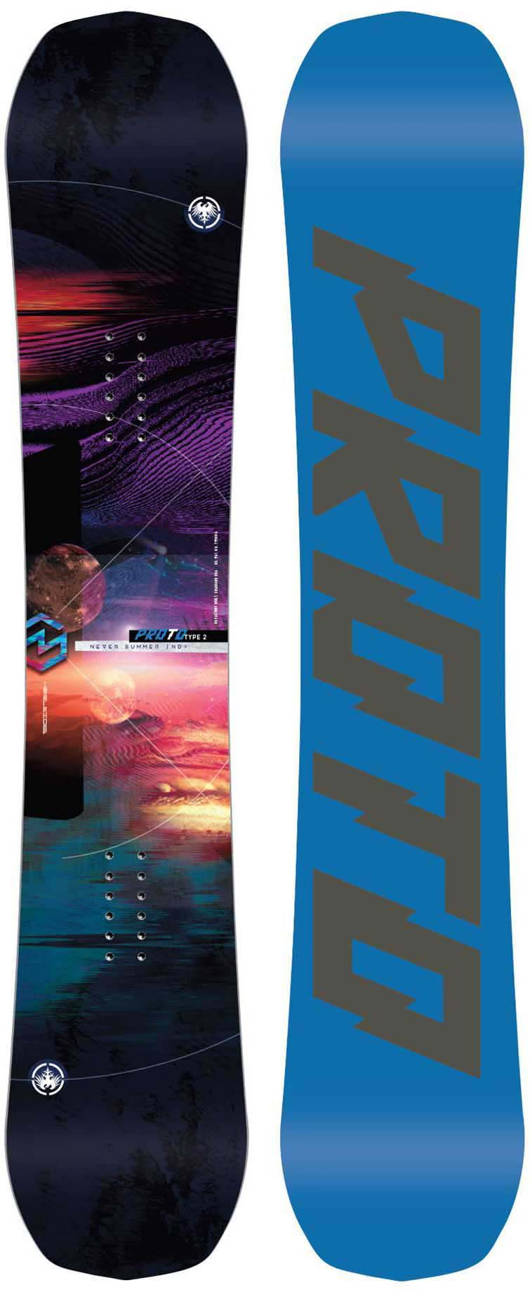 Never Summer Proto Type Two 2017 2019 Snowboard Review