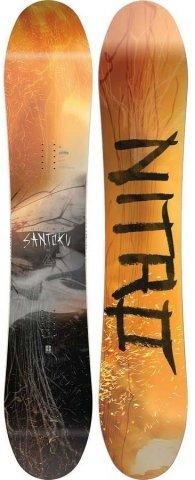 Nitro Santoku 2020 Snowboard Review