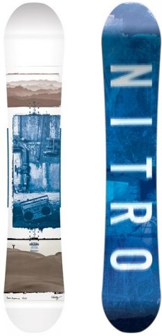 Nitro Team Gullwing 2011-2018 Snowboard Review