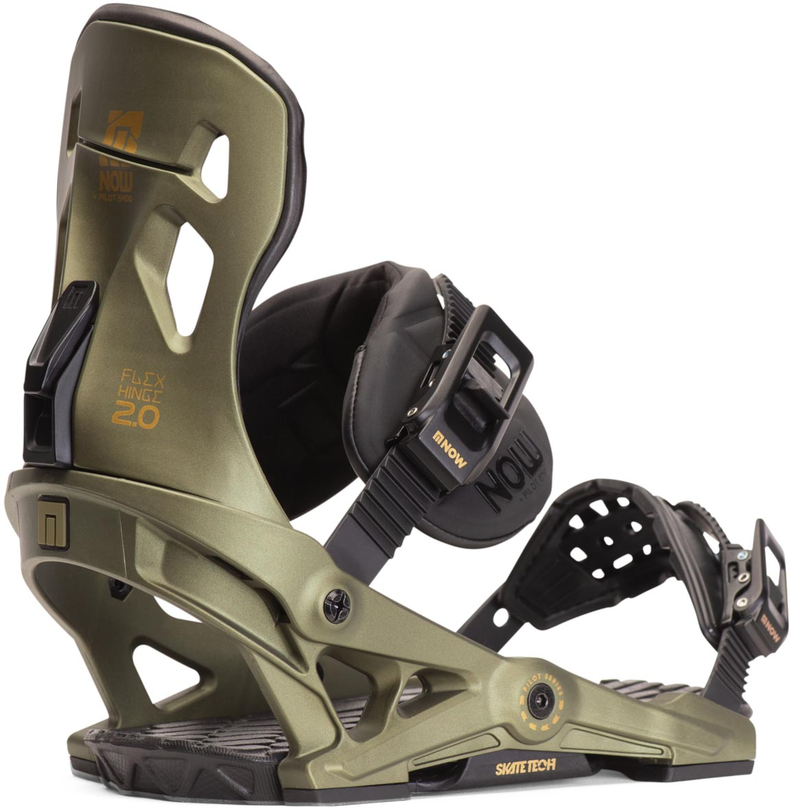 NOW Pilot Snowboard Binding Review